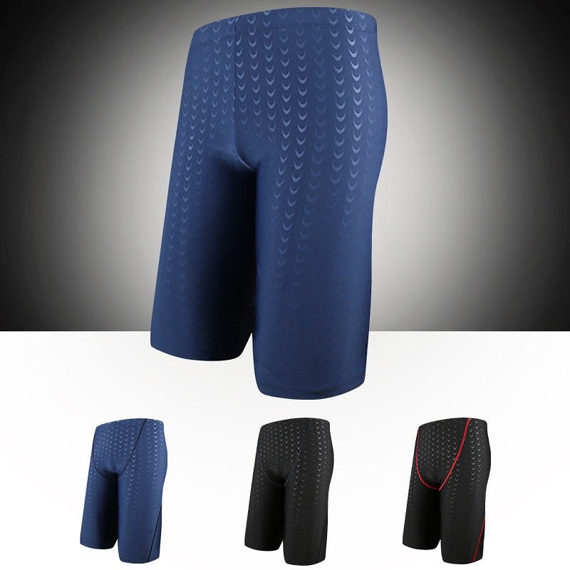 2018 New Style Beach Shorts Boxer Men Industry Swimming Training-Style Quick-Dry Adult Holiday Swimming Trunks