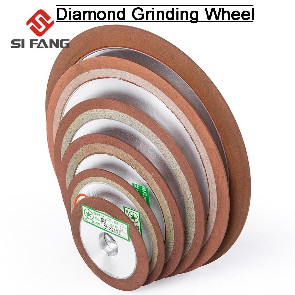 75/80/100/125mm 150Grit Diamond Grinding Disc Sharpening Diamond Grinding Wheel  For Tungsten Steel Milling Tool  Carbide Metal