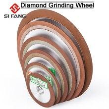 Алмазный шлифовальный диск 75/80/100/125 мм, зернистость 150, заточка, алмазный шлифовальный круг для вольфрамовой стали, Фрезерный инструмент, кар...