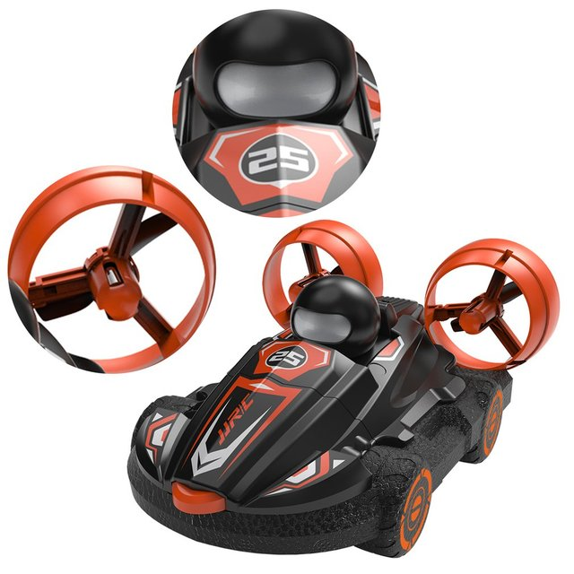 JJR/C Q86 2.4G 2-in-1 Amphibious Drift Car RC Hovercraft Speed Boat RC Stunt Car Toys Gift For Kid Outdoor Models Car 3