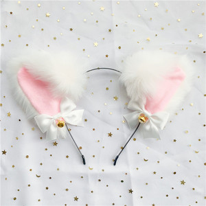 Image 3 - Cute Soft Neko Ears Headbands Faux Fox Tail Metal Butt Anal Plug Erotic Anime Cosplay Accessories Adult Sex Toys for Couples