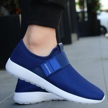 Man Sneakers Walking-Shoes Mesh Outdoor Sport Plus-Size Fashion Breathable Men's 47 Flat