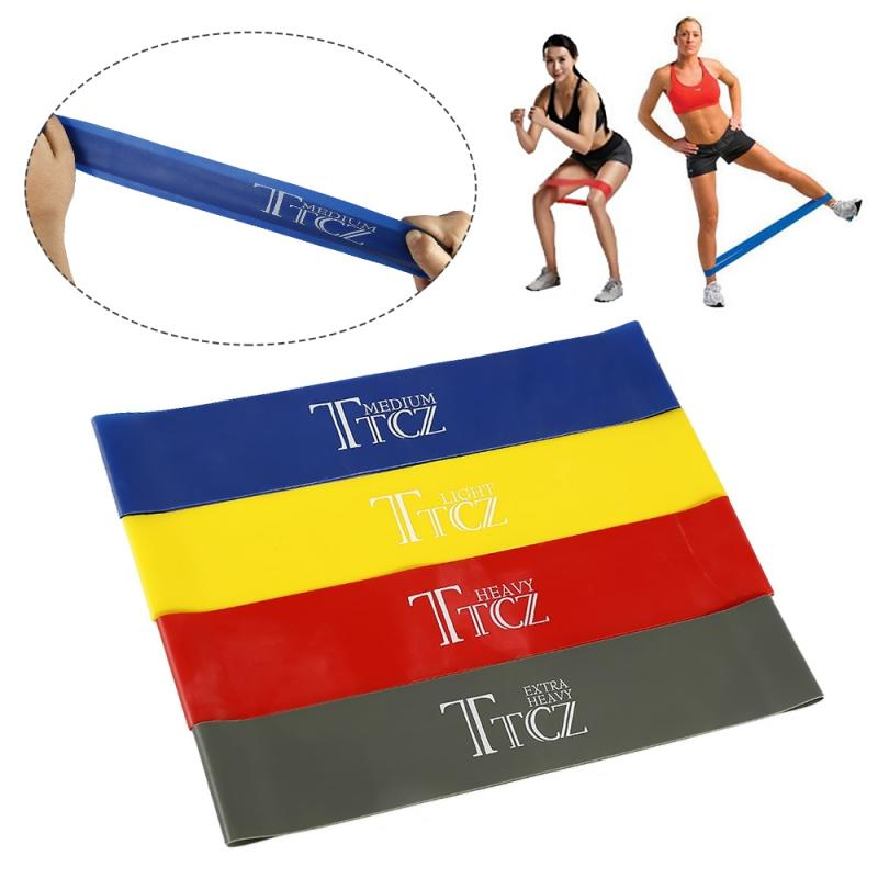 Yoga Stretch Latex Resistance Bands  Exercise Elastic Band Strength Pilates Fitness Equipment Training Expander Unisex Yoga Band