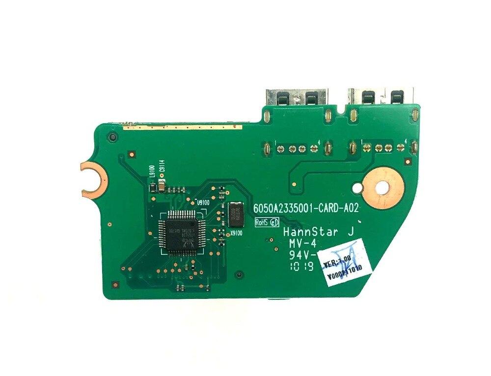 东芝Toshiba Satellite L650 L655 L650D L65 USB Board USB2.0接口小板 读卡器 6050A2335001-CARD-A02