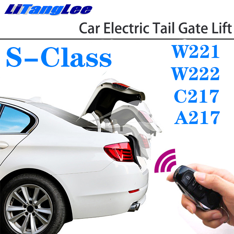 LiTangLee Car Electric Tail Gate Lift Trunk Rear Door Assist System For Mercedes Benz MB S Class W221 W222 C217 A217 2006~2020
