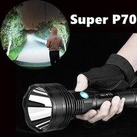 Highpower cree p70 warmweiß licht lampe USB Chargingflashlight led taschenlampe suche licht leistungsstarke-in LED-Taschenlampen aus Licht & Beleuchtung bei