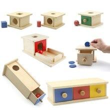 Montessori Drawer Box Object Performance Box Early Learning