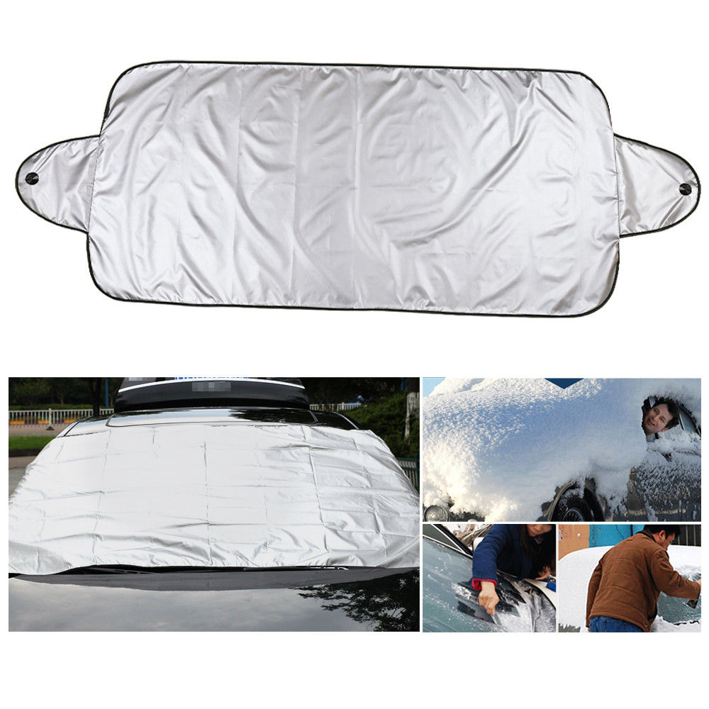 Magnetic Car Windshield Snow Cover Winter Ice Frost Guard Protector Sun Shield Covers