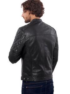 Image 5 - Vinas marca europeia dos homens premium buffalo jaqueta de couro para homens inverno real couro da motocicleta jaquetas motociclista bravo