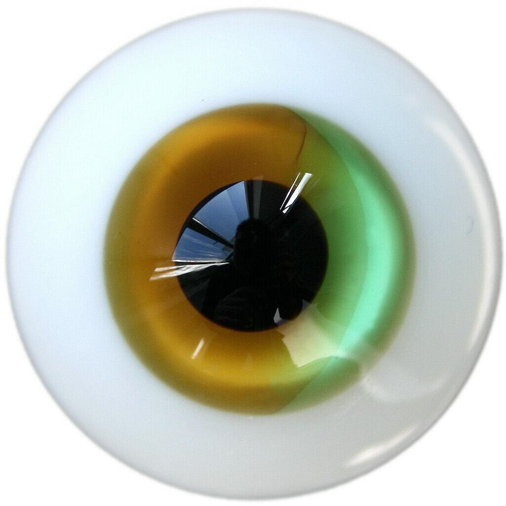 [wamami] 6mm 8mm 10mm 12mm 14mm 16mm 18mm 20mm 22mm 24mm Multi-Colored Glass Eyes Eyeball BJD Doll Dollfie Reborn Making Crafts
