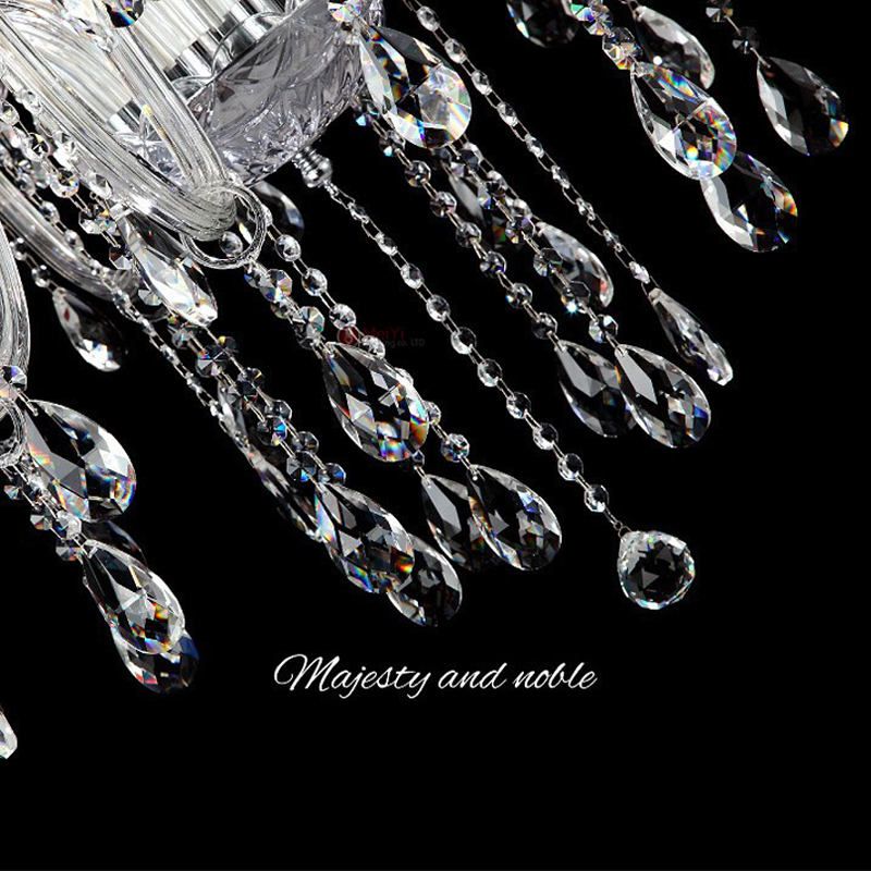 38mm 50mm 63mm Clear K9 Glass Crystal Prisms Pendants Chandeliers Parts Lamp Lighting Hang Drops For Decoration