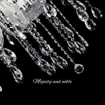 38mm 50mm 63mm wyczyść K9 szklane zawieszki kryształowe typu pryzmat części do żyrandoli lampa sople do lampy do dekoracji tanie i dobre opinie Kryształowy żyrandol Teardrop-08 crystal chandelier parts 38mm 50m 63mm 10pcs Modern polishing home party wedding decoration accessories pendant etc