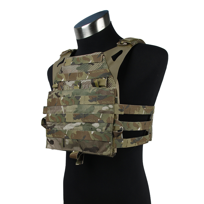 TMC3113-MC Lightweight Black JPC2.0 Tactical Vest Jump Plate Carrier 2.0 MARITIME Ver.