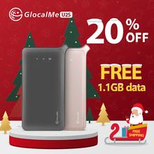 GlocalMe U2S Lite mobilny punkt aktywny o wysokiej szybkości na świecie 4G Hotspot wifi z 1GB danych globalnych przenośny router wi-fi-złoto tanie tanio CN (pochodzenie) Wireless 1 x USB 2 0 2 4g Brak 150 mbps U2S Gold Wi-fi 802 11b Bezprzewodowy dostęp do internetu 802 11n