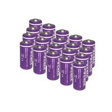 20x 1/2 aaサイズls 14250 ER14250 3.6 ボルト 1200 mahリチウム電池タイロン電池用互換dogwatch犬の首輪