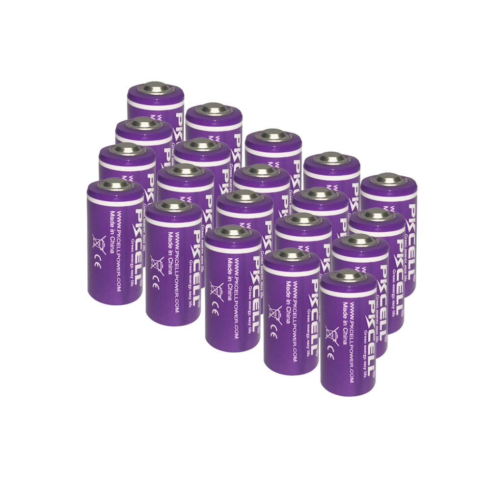 20x1/2 AA Size <font><b>LS</b></font> <font><b>14250</b></font> ER14250 3.6 Volt 1200 mAh Lithium Batteries 4 Pack, Tyrone Batteries Compatible for Dogwatch Dog Collar image