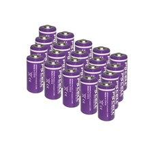 Литиевые аккумуляторы Tyrone 20x 1/2 размера AA LS 14250 ER14250 3,6 В 1200 мАч, совместимые с собачьими часами и ошейником