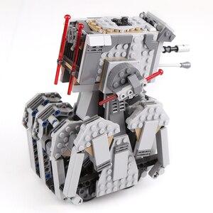 Image 3 - 05126 스타 워즈 시리즈 첫 주문 스카우트 워커 세트 모델 빌딩 블록 lepining와 호환 75177 75188 DIY Kids Toys