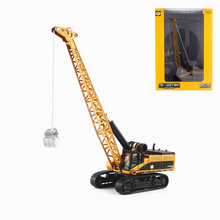 High simulation alloy 1 50 crawler tower crane model exquisite crane engineering truck children #8217 s engineering toys cheap hangjue Metal CN(Origin) 7-12y No Battery Other Diecast Certificate 2011152204007092 Don t eat