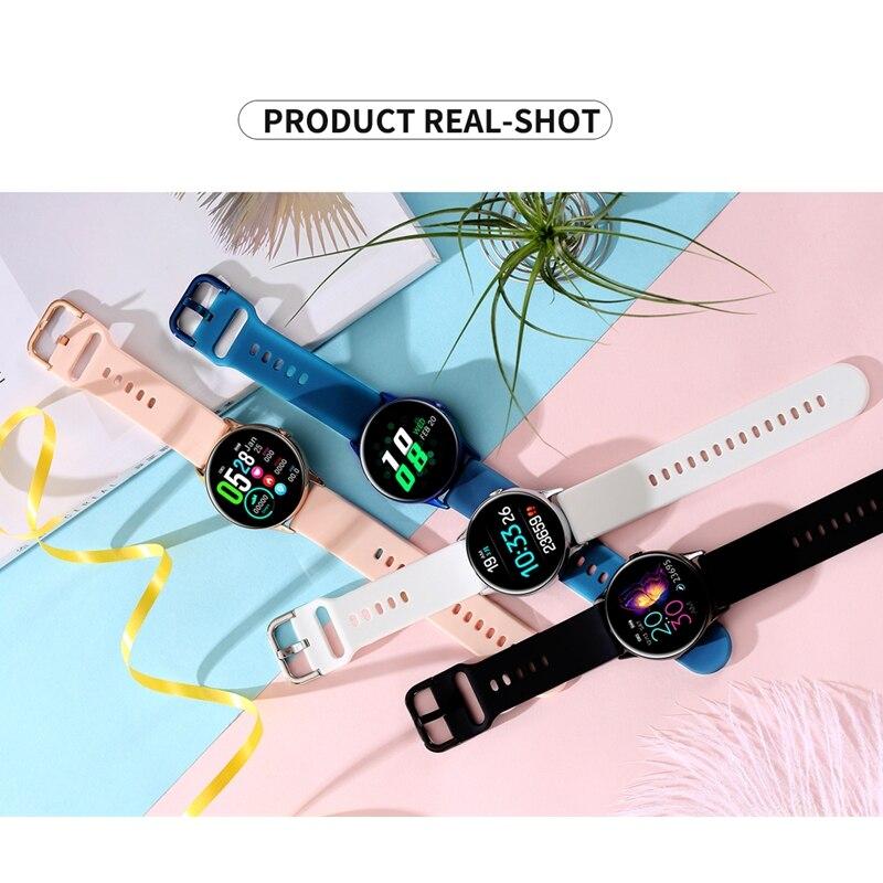 DT NO.1 DT88 Smart Watch Round Touch Screen Smartwatch Heart Rate Intelligent Fitness Tracker Sports Fashion Watch Men Women