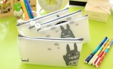 купить 1pcs/lot Japan Cartoon Cat series pencil case pen holder pouch Storage Organizer Bag School Office Supply Gift Stationery по цене 35.12 рублей