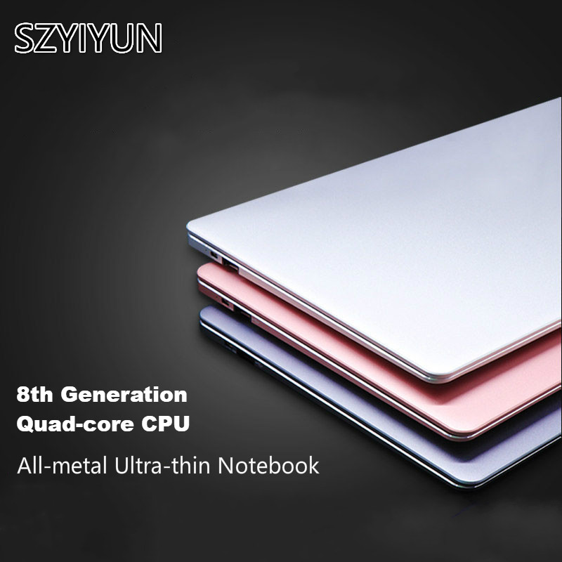 J3455 14 Inch Mini Portable Metal Laptop 8G RAM High Speed SSD Working Notebook Computer IPS Screen New Office Business Netbook