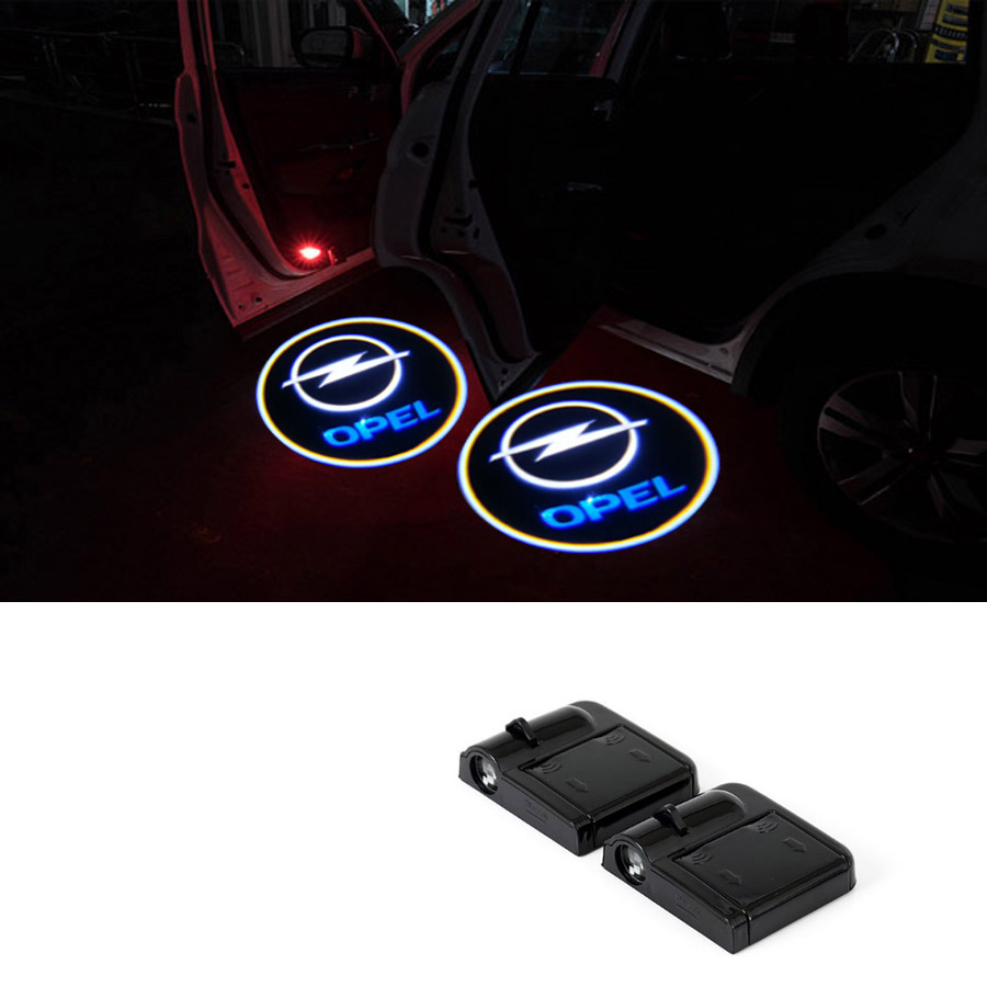 Wireless Car Door Welcome Logo Light Projector For Opel Astra Vectra Insignia Zafira Omega Corsa Antara