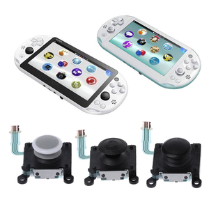 Image 3 - عصا تحكم تناظرية أصلية بزر ثلاثي الأبعاد لليسار الأيمن عصا تحكم بديلة لجهاز Sony PlayStation PS Vita PSV 2000