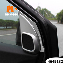 Trim-Cover Speaker Matte-Accessories Honda cr-V for CRV 13/14/15-16-17/.. ABS