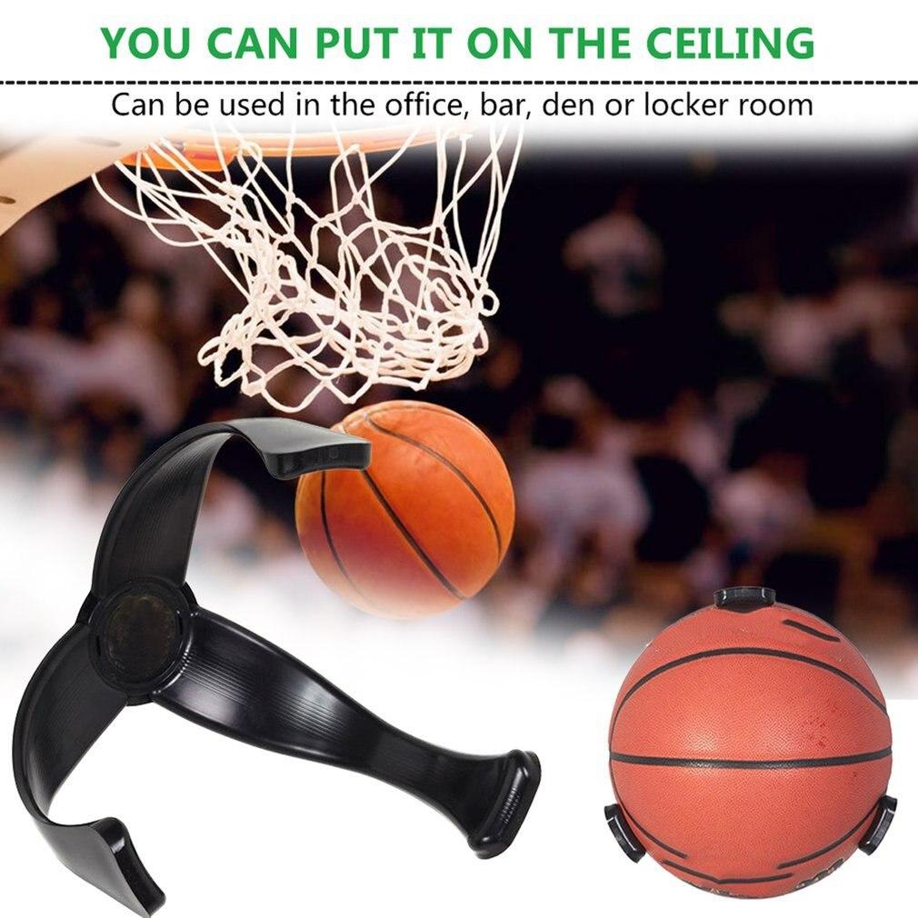 Sports Ball Storage Basket Space Saver Wall Mount for Basketball Ball Bag Shelf