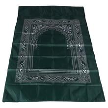 Mats Prayer-Rug Travel Muslim Portable 5-Color Blanket Home-Mat Print Yes Braided