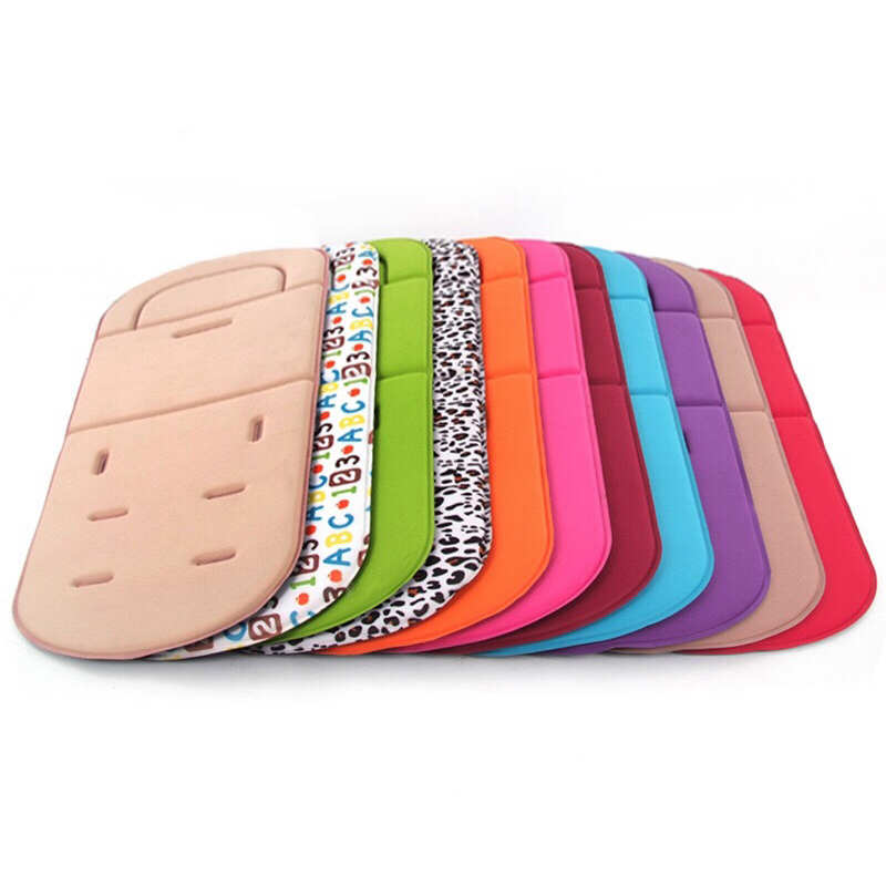 Comfortable Baby Stroller Cushion Pad Four Seasons General Soft Rainbow Seat Child Cart Seat Mat Kids Pushchair Cushion For 0-3Y