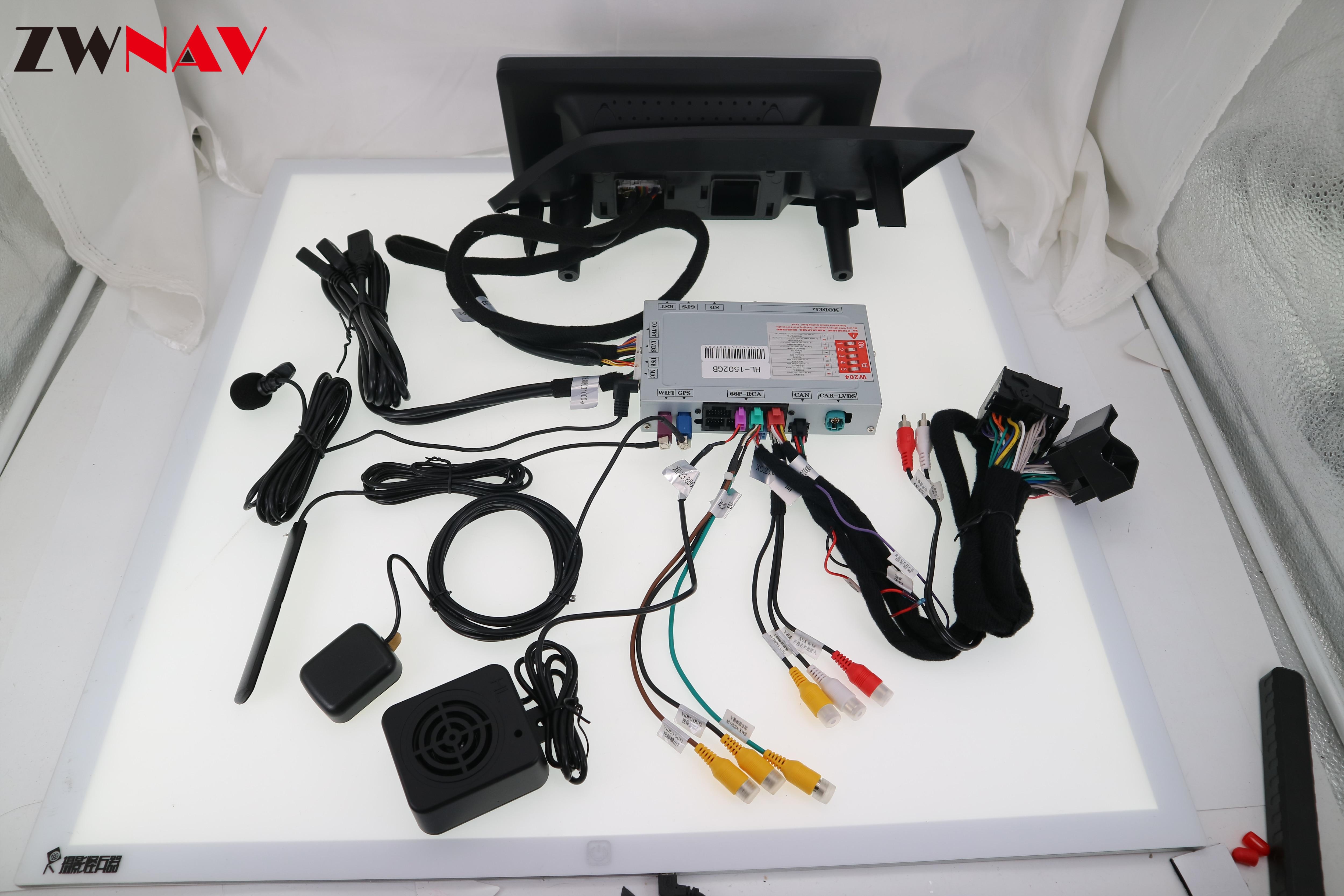 4 + 64 android 90 автомобильный стерео плеер gps ГЛОНАСС navi