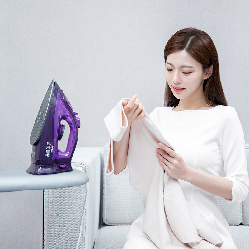 Image 4 - XIAOMI MIJIA Lofans Cordless Steam Iron YD 012V multi function adjustable ironing Garment steam generator anti drip design iron-in Electric Irons from Home Appliances