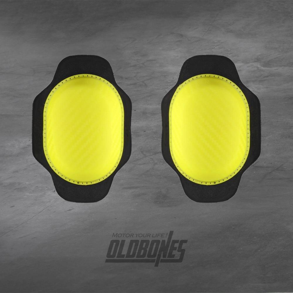 Motorcycle Motorbike Gears kneepads Knee Pads Sliders Protector Cover Yellow
