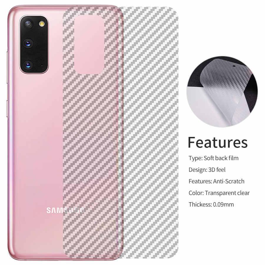2 en 1 protecteur d'écran arrière autocollant anneau de Protection en métal protecteur d'appareil photo pour Samsung Galaxy S20 Plus Note 20 5G Ultra étui