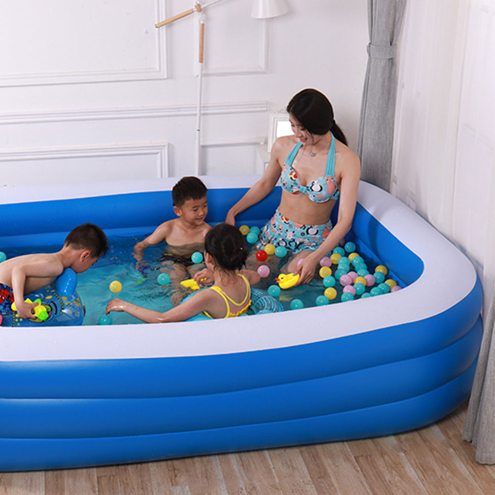 Inflatable Swimming Pool Portable Outdoor Children's Pool Indoor Baby Swimming Pool Summer Kid Water Toys Large Family Pools