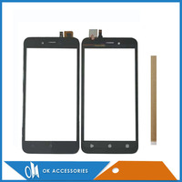 5.0 Inch For FinePower D2 Touch Screen Digitizer Touchscreen Sensor Glass Black Color With Tape
