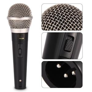Image 4 - קריוקי מיקרופון כף יד מקצועי Wired דינמי מיקרופון ברור קול מיקרופון לקריוקי חלק ווקאלי מוסיקה ביצועים חם