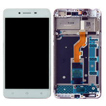 Top quality For OPPO A37 Full LCD Display Touch Screen Digitizer Assembly Replacement Parts top quality full lcd display touch screen digitizer assembly for htc droid dna x920e butterfly replacement part tempered glass