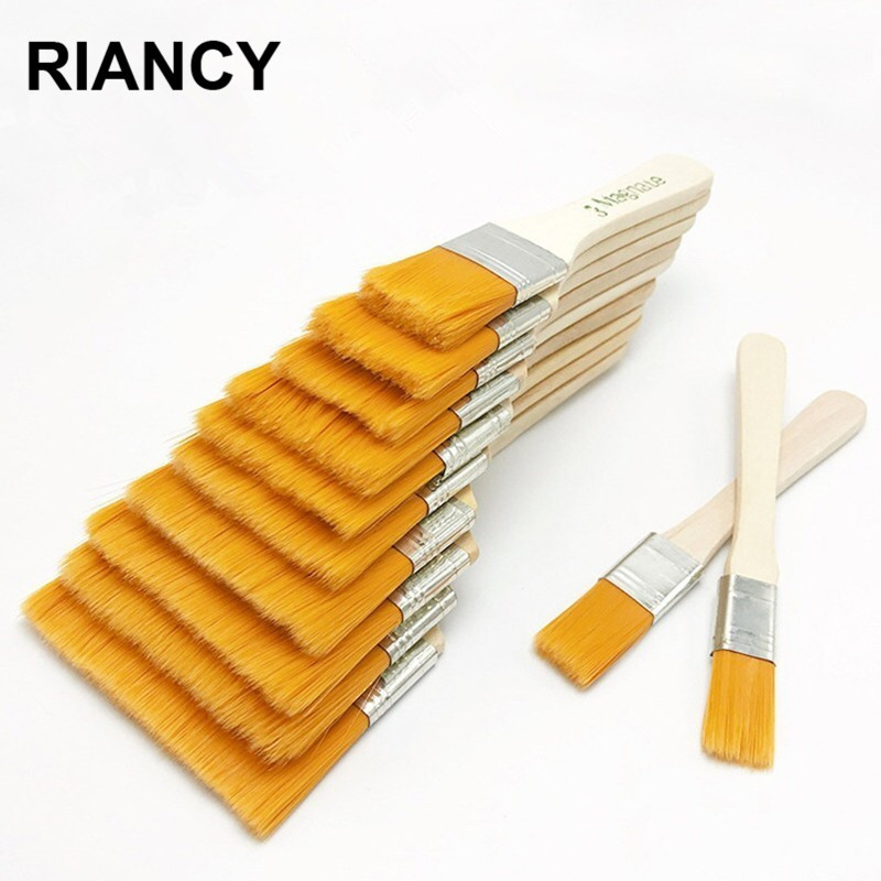 Oil Watercolor Paint Brush For Painting Drawing Different Size Nylon Hair Artistic Brushes Acrylic Paints Art Supplies 03165