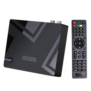 MECOOL K5 TV BOX z androidem DVB-T2 S2 dekoder Android 9 0 4K odtwarzacz multimedialny Amlogic S905X3 Quad-cord 2 4G 5G 2T2R WiFi BT4 2 tanie i dobre opinie docooler NONE 100 M CN (pochodzenie) Other 16 GB eMMC HDMI 2 0 2G DDR3 Wliczone w cenę