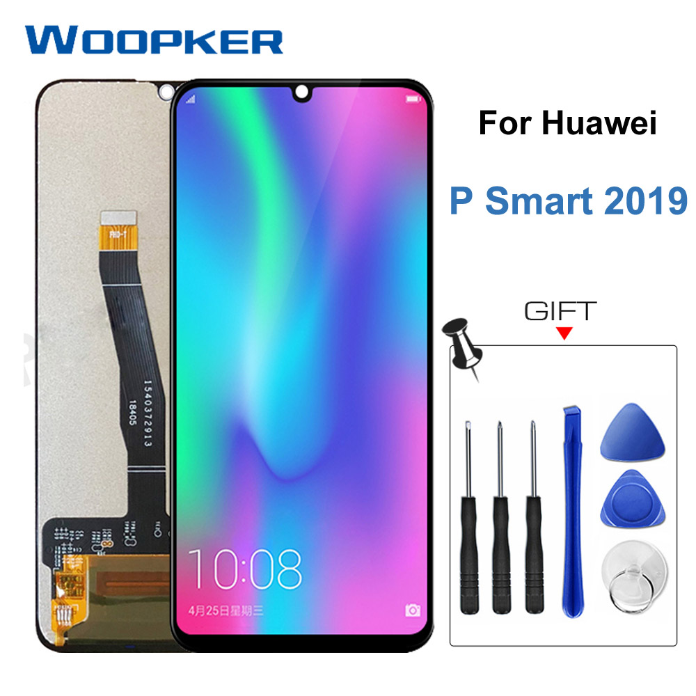 Original For Huawei P Smart 2019 LCD Display Touch Screen Digitizer Assembly  6.21 Inch P Smart2019 Lcds Touch Repair Parts