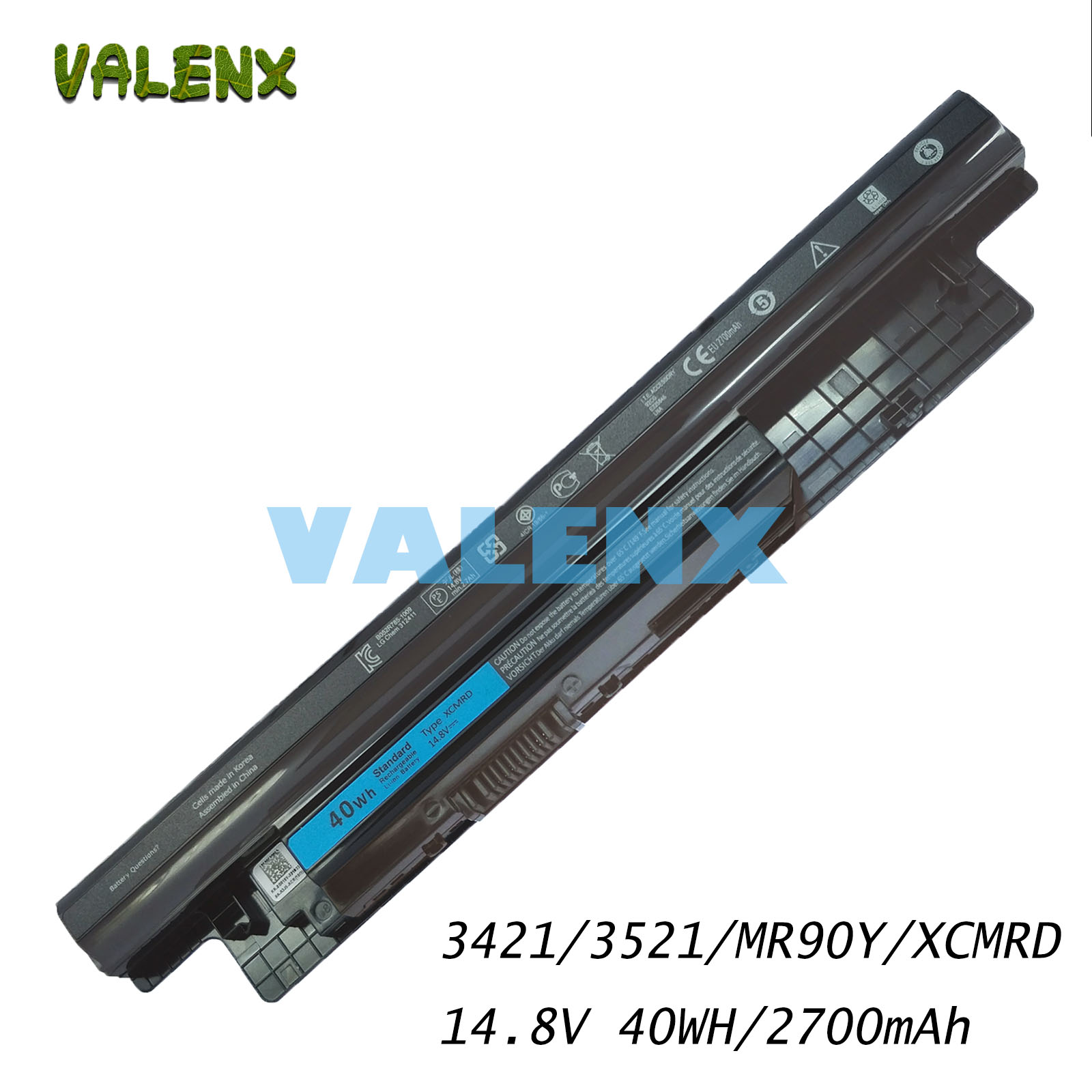 4Cells 14.8V 40Wh New Laptop Battery For Dell Inspiron XCMRD 14 3421 14R-5421 5421 3521 5521 3721 15-3521 3421 Series