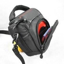 Bolso de hombro para cámara DSLR, bolsa de viaje para nikon D700 D5200 D5100 D710 D600 D800 D800E
