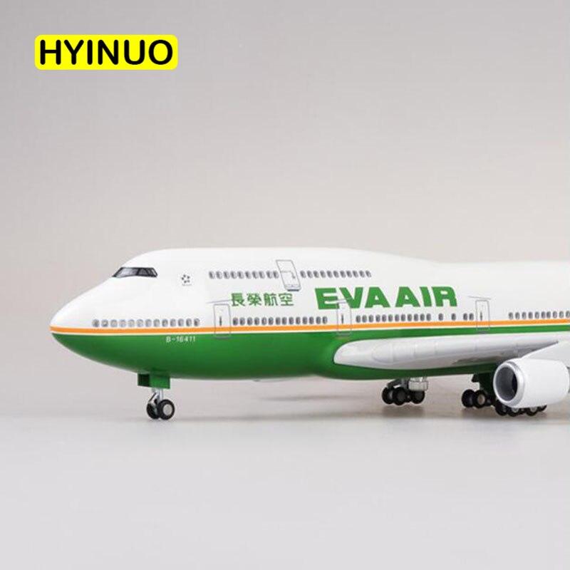 boeing b747 aeronaves taiwan eva avião de
