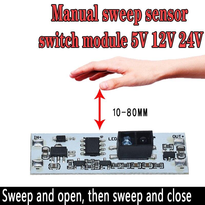 Trotteuse Capteur Tactile Module 36W 3A Courte Distance Capteur De Balayage De Contrôle de Gradation Lampes Composants Actifs XK-GK-4010A