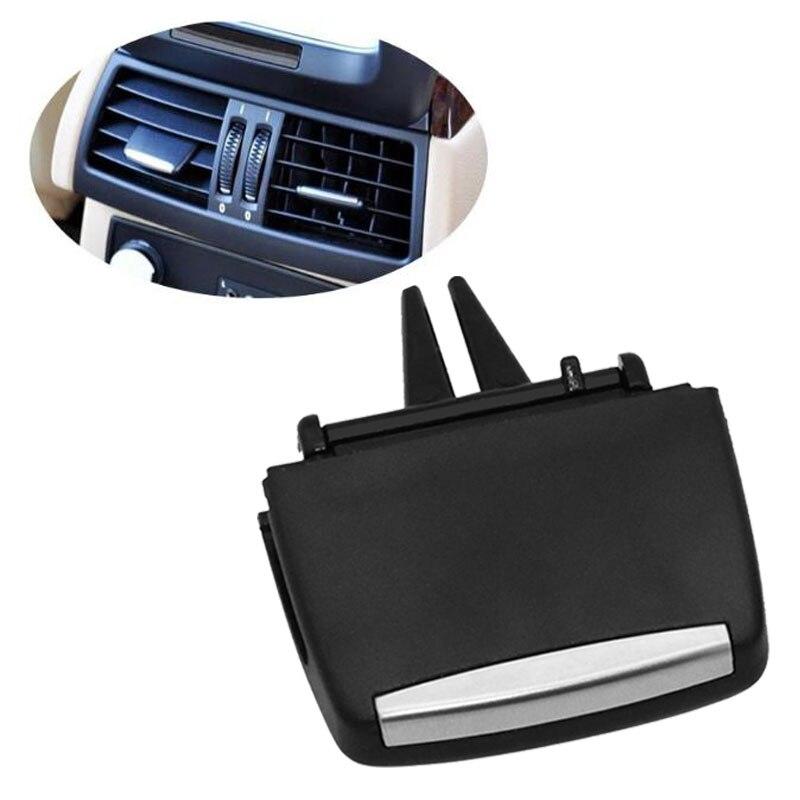 اكسسوارات السيارات الداخلية الجبهة/الخلفية مركز أ/ج تكييف الهواء تنفيس منفذ تبويب طقم تصليح كليب لسيارات BMW X5 E70 X6 E71