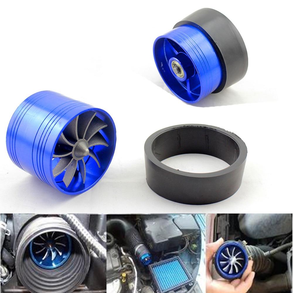 Turbocompresor Universal para motor de admisión de aire de coche, ventilador de ahorro de aceite y Gas para manguera de admisión Dia 5,5-6,5 CM