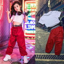 Fashion Dance Costume For Girls Hiphop Rave Outfit Street Dance